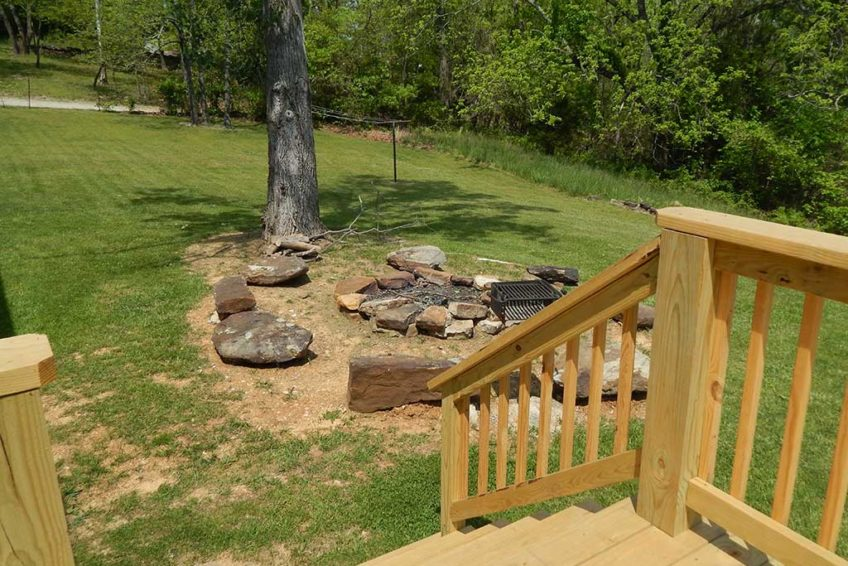 Fire Pit Deck