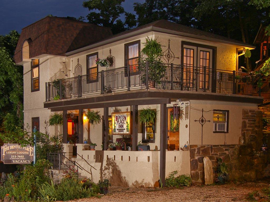 Benton Place Inn at Night
