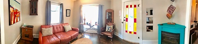 360 Degree View of Living Room