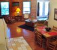 Cabin Roadrunner Kitchen Livingroom