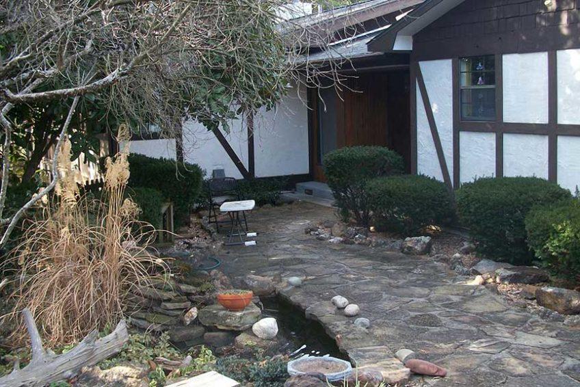 Double Door Entry - Hidden Oasis Retreat