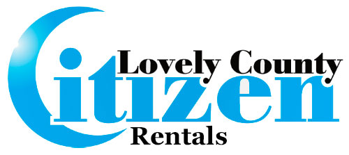 Lovely County Citizen Retals Ad