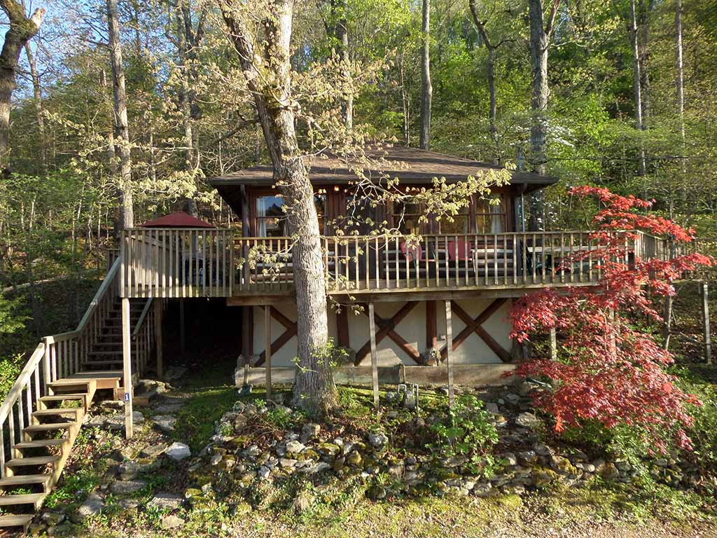 ga rentals cabin blue cabins helen arkansas georgia ridge heven mountain