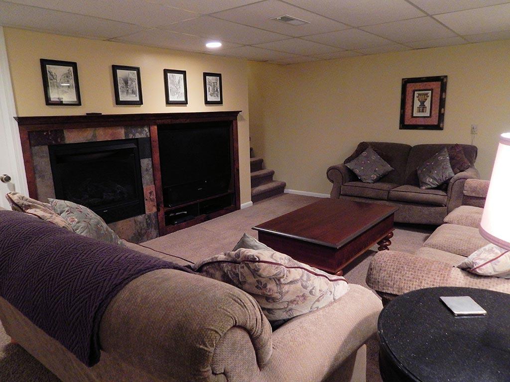DownstairsTVFireplace