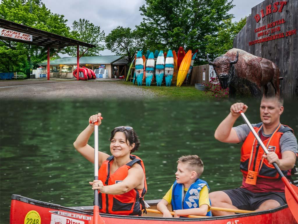 Dirst Canoe Rental