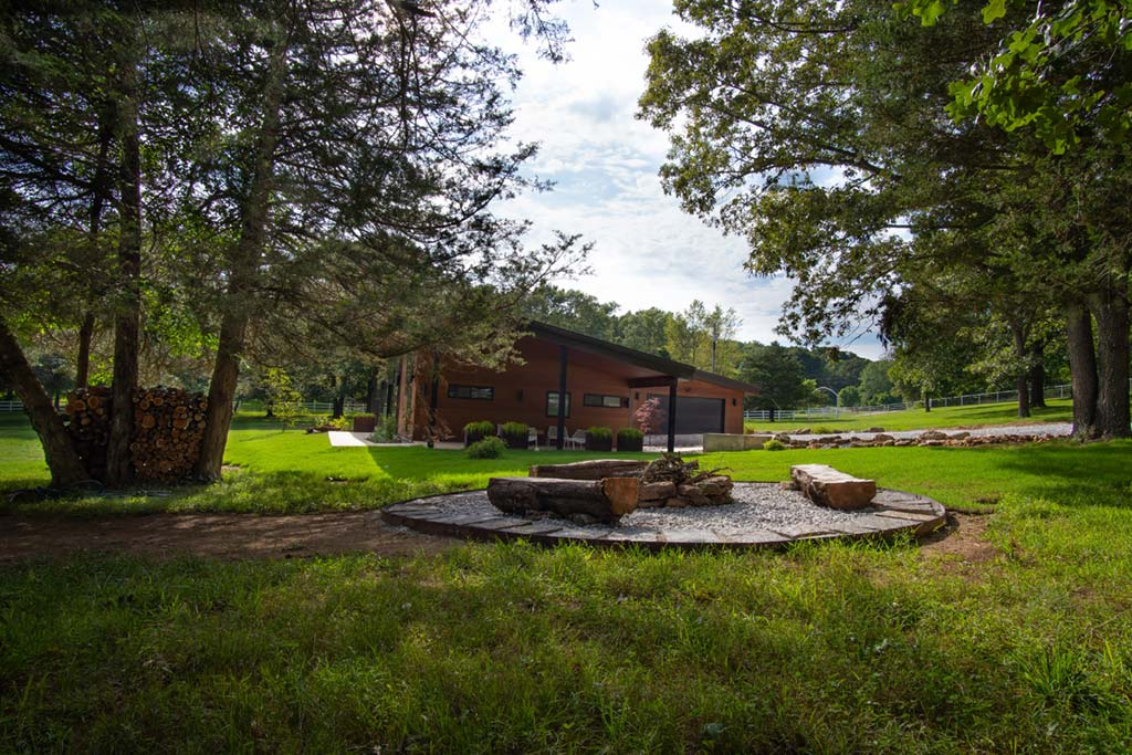 Getaway at Good Acres Fire Pit