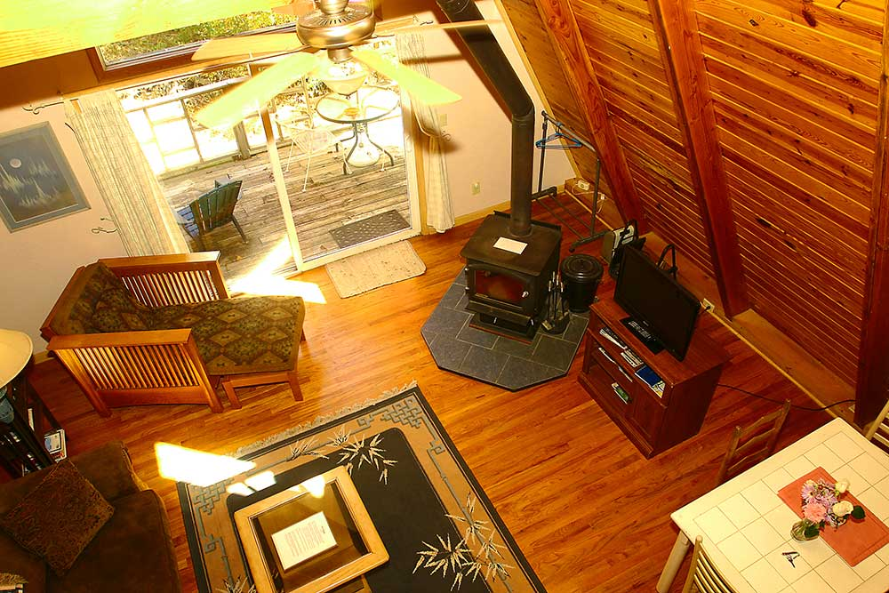 Cabins Kingfisher Open Plan Living Room