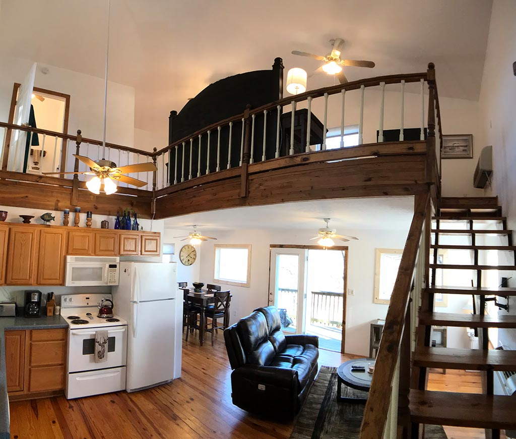 Blue Water Lodge Loft